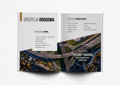 Northgate logistics - projektowanie graficzne, druk materialow