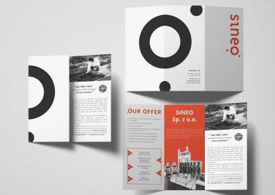 Sineo - projektowanie graficzne, druk materialow