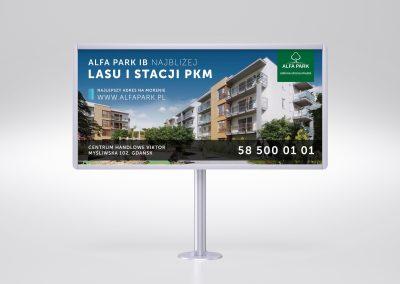 Mock-up – Simple billboard