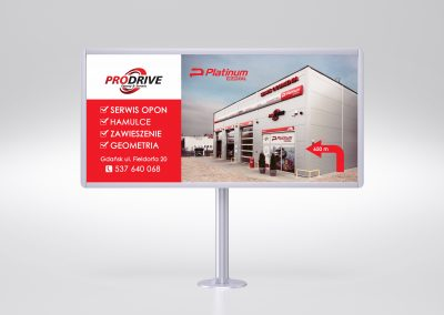 Mock-up – Simple billboard